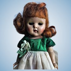 Lovely Vogue Ginny Strung Pamela 1952 Red Hair Doll