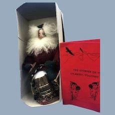 "Vintage 11"" Icelandic Santa Claus Gryla Doll Figure Mint in original box"