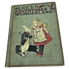 1899 Alice's Adventures In Wonderland 1st Edition Children's Book