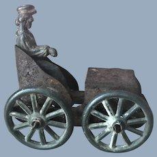 Antique Metal Automobile Penny Toy
