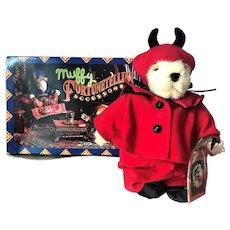 Mint Muffy Vanderbear Halloween Trick Treat Teddy Bear & Fortune Telling Tarot Cards MIB
