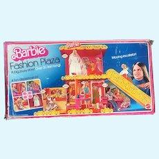 1975 Mattel Barbie Doll Fashion Plaza Shopping Mall Play Set with Escalator in Box