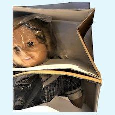 "Vintage 35"" Shirley Temple Playpal Doll Mint in Box NRFB Danbury Mint"