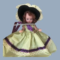 Nancy Ann Story Book Little Miss Donnet Fairyland NASB Bonnet Doll Mint in Box