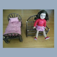 American Girl Doll Size Adirondack Chair Bed Mattress Doll Furniture Boyds Tag