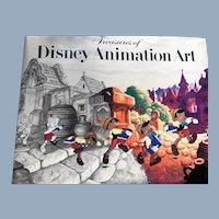 Treasures of Disney Animation Art Book 1st Edition John Canemaker
