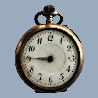 Old Pocket Watch Porcelain Face Cylindre 8 Rubis 800 parts / repair