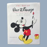 Vintage The Art of Walt Disney Book By Christopher Finch Abrams