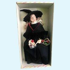 Vintage Witch Doll MIB Effanbee Spooky Halloween Faith Wick NIADA