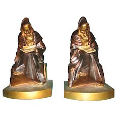 Monk Bookends by K & O