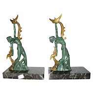 Phoenix Dancer Bookends