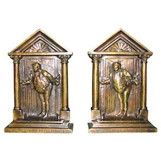 Mr. Pickwick Entertains Bookends by British