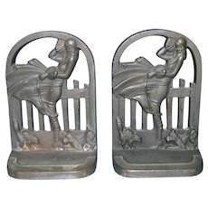 March Girl Bookends by Acorn Company