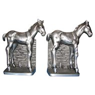 Colt Bookends by Bruce Fox