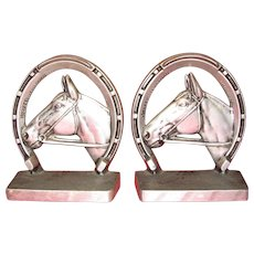 Thoroughbred Bookends by Bruce Fox
