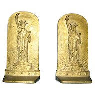 Statue of Liberty Bookends