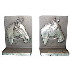 Horse Bookends by Bruce Fox