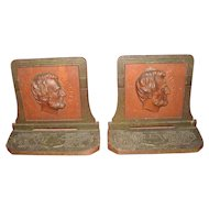 Lincoln Profile Bookends by Judd Co.