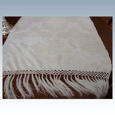 "24 x 52"" Huck Linen Damask Show Towel (3 Available)"