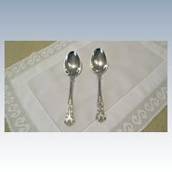"Pr. ""Kings"" Pattern Serving Spoons C:1900"
