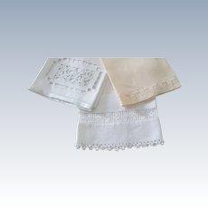Trio Of Linen Towels