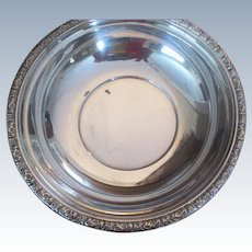 """Prelude"" By International  Sterling 9 7/8"" Bowl"