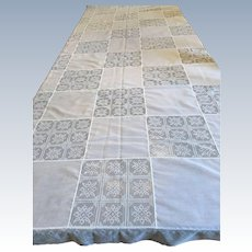 Vintage Army/Navy Tablecloth