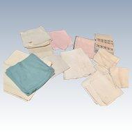 Linen Lot Of 37 Napkins