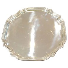 "10"" Tiffany ""Adams"" Sterling Tray"