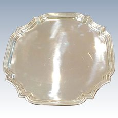 "10"" Tiffany Sterling Tray"