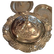 """Old Master"" Silverplated Serving Dish"