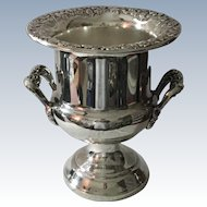 Repousse Border Wine/Champagne Cooler