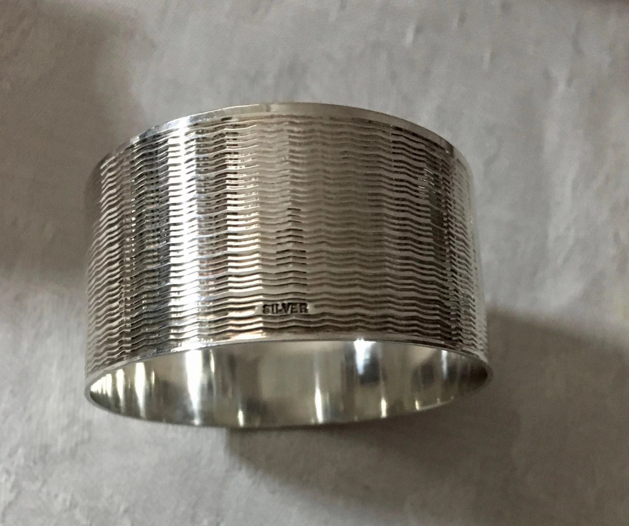 Sterling Lot Of Napkin Rings Click To Expand
