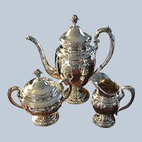 """""""Old Master"""" Sterling Coffee Set"""