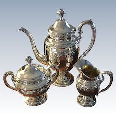 """Old Master"" Sterling Coffee Set"