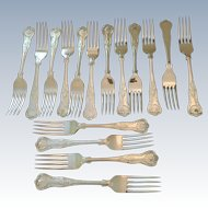"""Kings"" Pattern Table Forks(16 Available)"