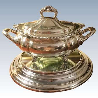 Antique Gorham Tureen C:1893