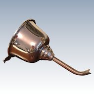 English Silver Plated Wine Funnel