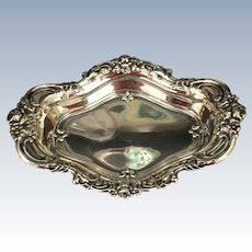 """Royal Rose"" Sterling Dish"