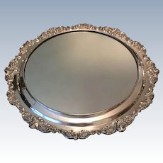 "Wallace ""Baroque"" !6"" Mirror Plateau"