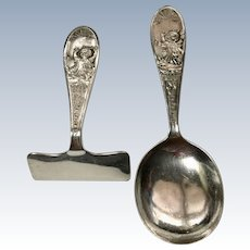 "English Sterling ""Little Miss Muffet"" Baby Set"