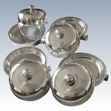 Set/4 Ellis Barker Food Warmers