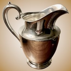 Wallace Sterling Water Pitcher #201