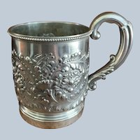 Antique Gorham Sterling Christening Cup/Mug C:1890