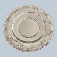 "10"" Gorham Sterling ""Chantilly Floral"" 10"" Sandwich Tray"