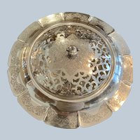 "Francis 1 13 1/2"" Flower Bowl By Meriden/International Silver Co"