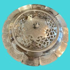 "Francis 1 13 1/2"" Flower Bowl By Meriden/International Silver Co"