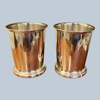Sterling Julep Cup by Poole Silver Company Circa; 1960 (2 Available)