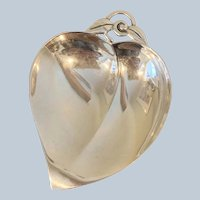Tiffany Sterling Heart Shaped Leaf Dish (Small)