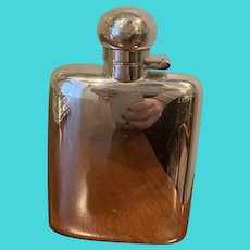 Silver-plated Flask By English Maker James Dixon & Sons
